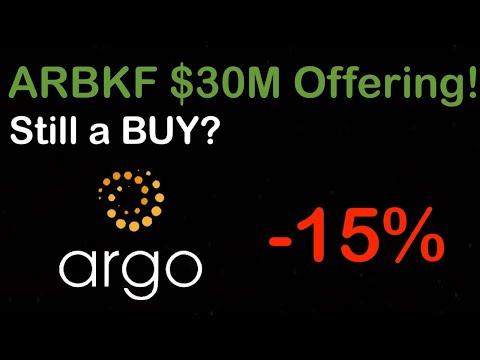 ARGO BLOCKCHAIN $30M OFFERING! Still a BUY?? BEST Penny Stock to Buy Now – Bitcoin Mining ARBKF
