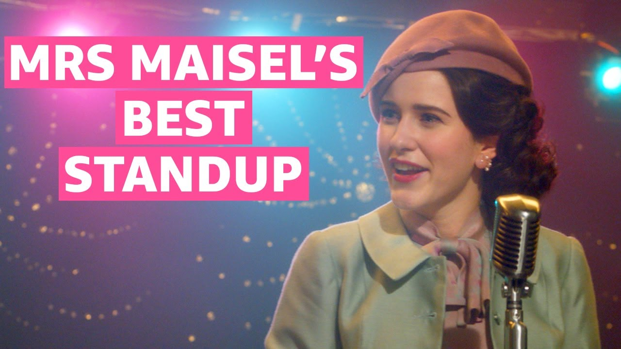 The Marvelous Mrs. Maisel Best Standup Bits | Prime Video