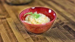 Sauerkraut Salad - Surowka Z Kiszonej Kapusty - Recipe #195
