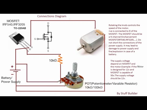 Update 3)How to build the simplest DC Motor Speed Controller