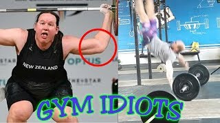 Gym Idiots - Transgender Weightlifter Laurel Hubbard's Injury, Butterfly Pullup Crash, & More
