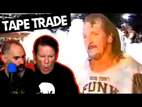 TERRY FUNK SQUASH DEATHMATCH WITH FLAMING CHAIRS! Going In Raw's Tape Trade Ep. 1