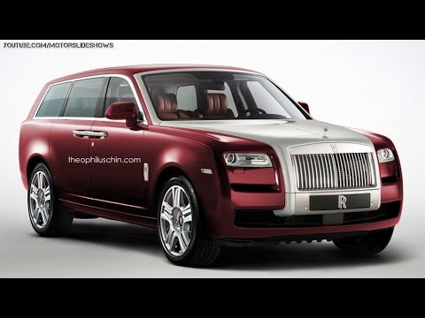 new rolls royce suv renderings and details youtube. Black Bedroom Furniture Sets. Home Design Ideas