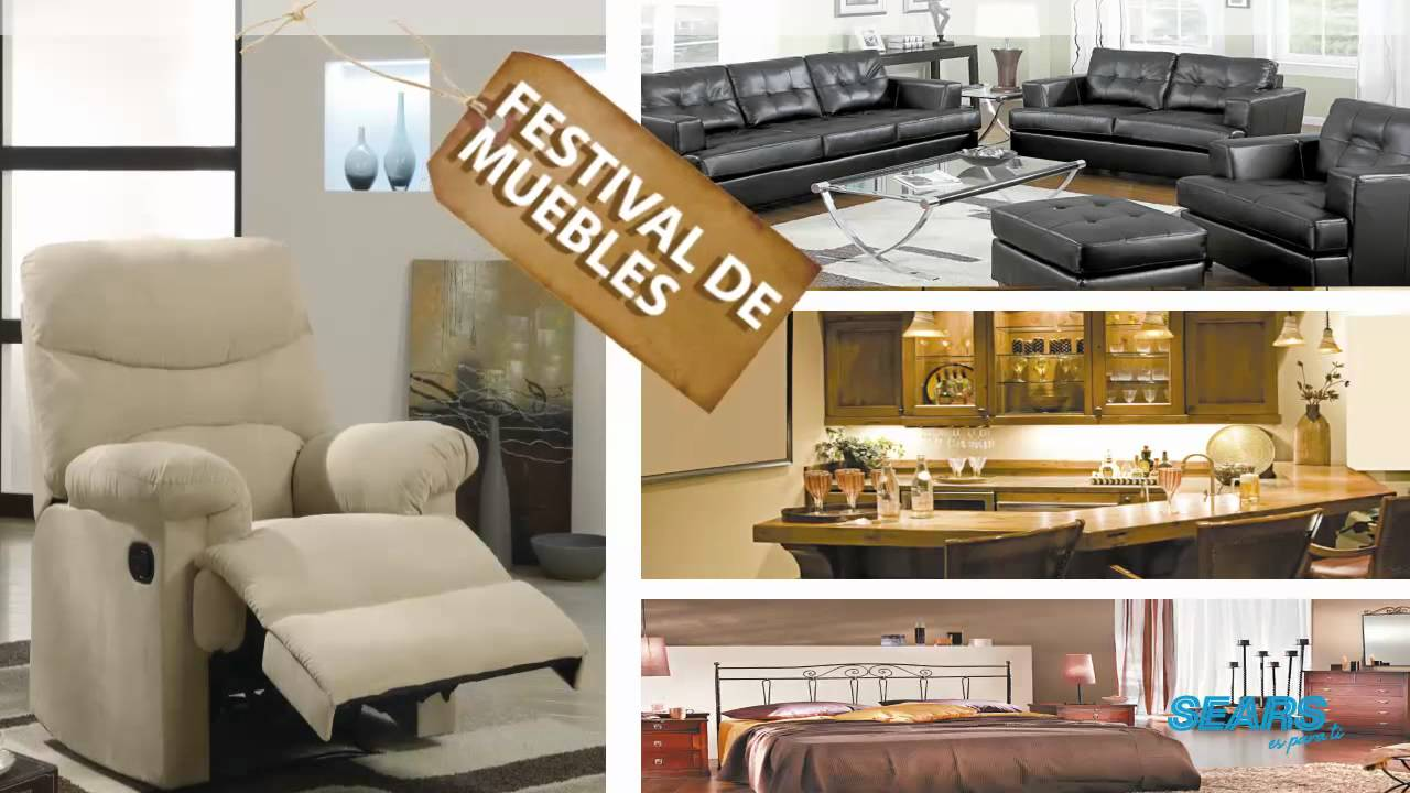 sears muebles youtube