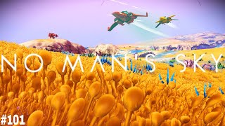 No Man's Sky | Part 101: STUNNING! INCREDIBLE GOLDEN PARADISE PLAINS! [NMS | Atlas Rises 1.3 Update]