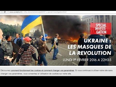 Прямая Трансляция - Поль Морейра Украина, маски революции - Где смотреть онлайн Canal+?