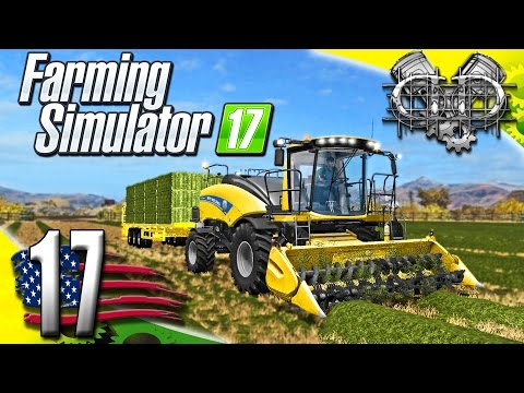 Farming Simulator 2017 Gameplay :EP17: New Holland Power Baler & Mack B61! (PC HD American Outback)