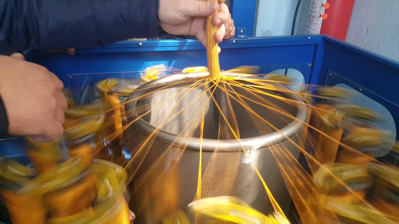 Kablo Rg Makinesi Wire Harness Braiding Machine Tres Braided