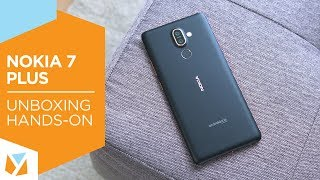 Nokia 7 Plus Unboxing, Hands-On
