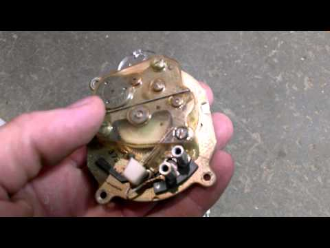 Rotary dial telephone scrap, silver