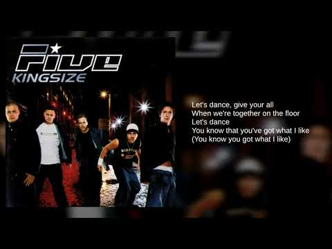 Five: 01. Let's Dance (Lyrics)