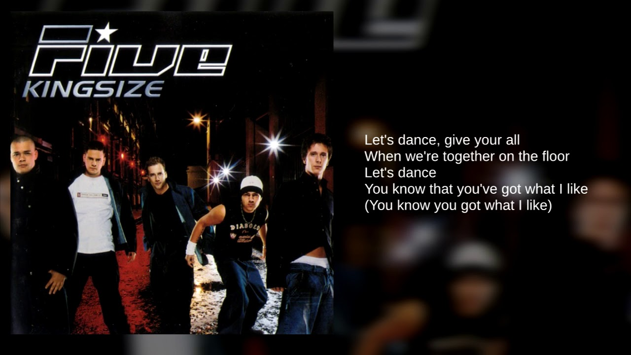 Five 01 Let S Dance Lyrics Youtube