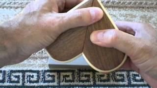 Kuru Kuru Heart Japanese Puzzle Box By Tatsuo Miyamoto