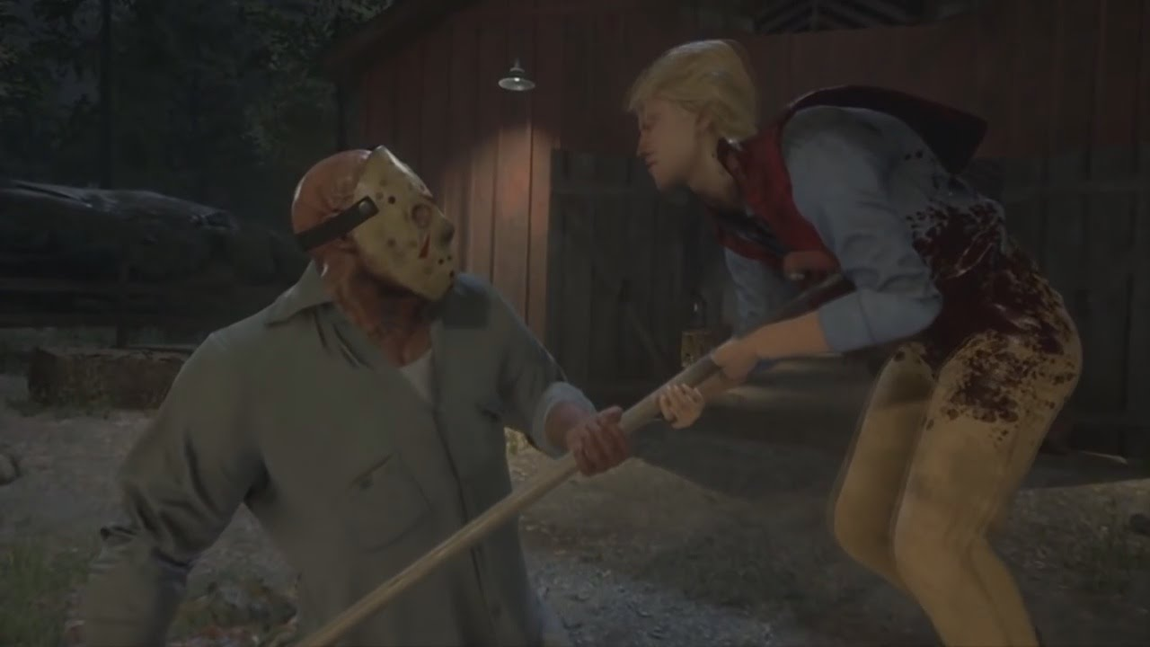 FRIDAY THE 13th THE GAME Jason Kills Gameplay Trailer (Xbox One. PS4. PC) - YouTube
