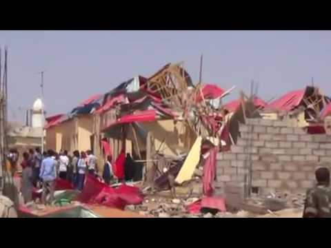 Galkayo Twin bomb blasts kill as many as 20 people in Somalia