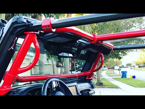 Rock Hard Sport Cage - Jeep Rubicon Install And Review