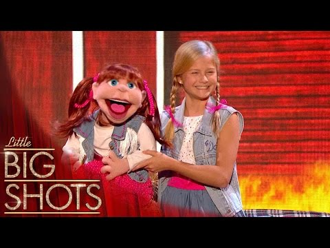 Darci's Duet Blows The Audience Away  Little Big Shots