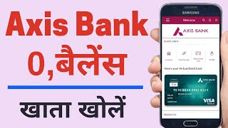 How to open axis bank account online