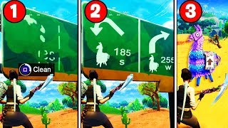 i found a REAL WAY to find LOOT LLAMAS EVERY GAME in Fortnite.. (NEW SEASON 5 LOOT LLAMA SECRET)