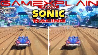 Team Sonic Racing - Switch vs. PS4 Graphics & Load Times Comparison!