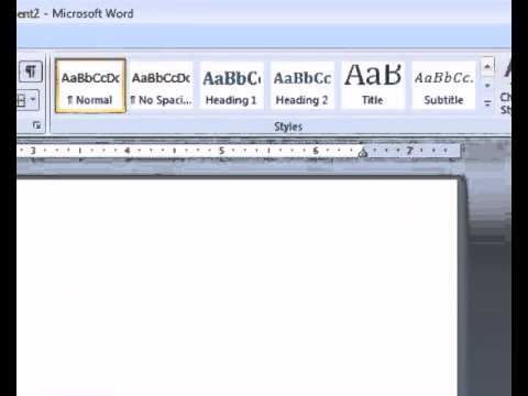 how to make a table of contents in word youtube