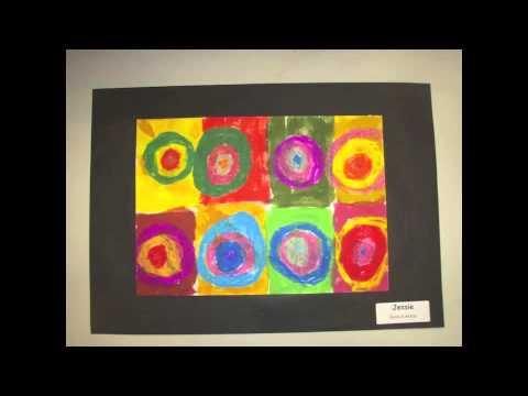 Kandinsky circles year 1 room 8 - YouTube