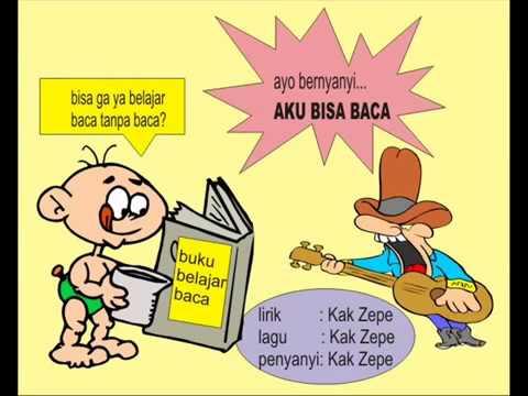 Aku bisa baca Lagu anak untuk belajar membaca ABC   ABC songs in Indonesia