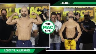 Artem Lobov vs. Paulie Malignaggi | Official Weigh-Ins