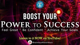 """Quick Motivation Frequency 183Hz """"Boost Your Power To Success' - Be Confident, Achieve Your Goals"""