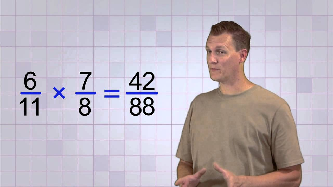 hight resolution of Math Antics - Multiplying Fractions - YouTube
