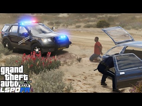 GTA 5 LSPDFR Police Mod 300 | 2016 FPIU Nevada Department of Public Safety Highway Patrol|Sand Storm