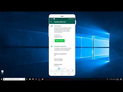 Video Guide - Come Salvare Chat, Messaggi E Foto Di Whatsapp Con Un Backup