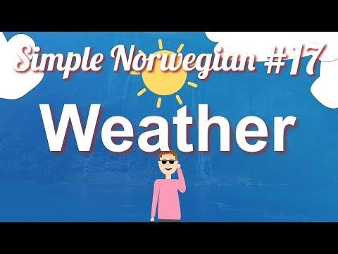 Simple Norwegian #17 - Weather & Seasons