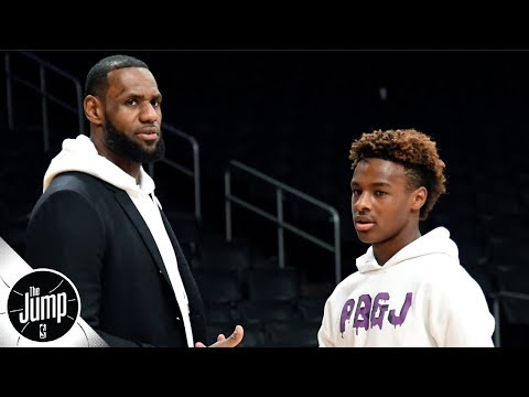 why-lebron-james'-behavior-at-bronny's-aau-games-is-so-important- -the-jump