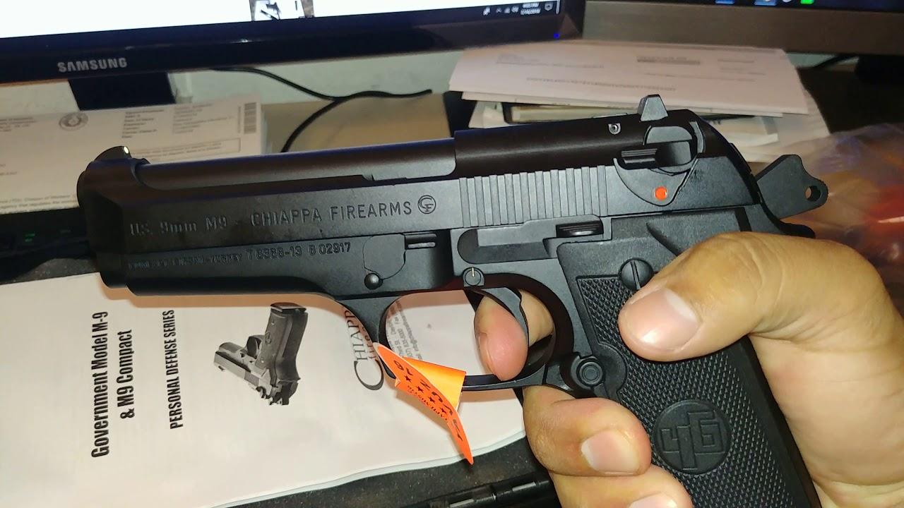 Chiapa/Girsan M9 9mm Centurion