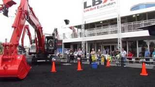 Video still for Link Belt Excavator Demo at ConExpo 2014