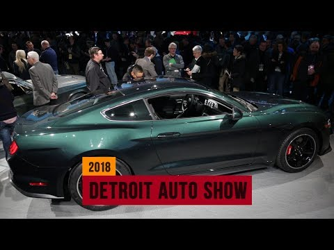 Ford Mustang GT 'Bullitt' special edition squeals into the Detroit Auto Show