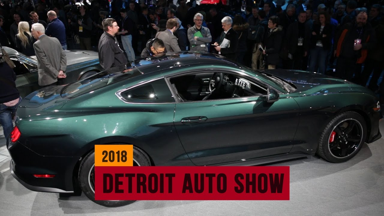 Ford Mustang Gt Bullitt Special Edition Squeals Into The Detroit Auto Show