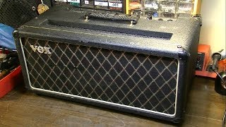 BUSTED BEATLES AMP! - 1965 Vox AC50 Repair