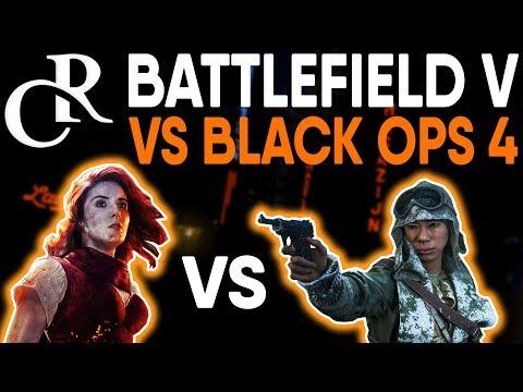 Battlefield Veteran Plays Call of Duty Black Ops 4 - Battlefield V VS COD Black Ops 4 thumbnail
