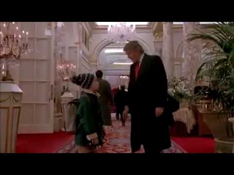 Home Alone 2 Donald Trump Scene Gebtp Youtube