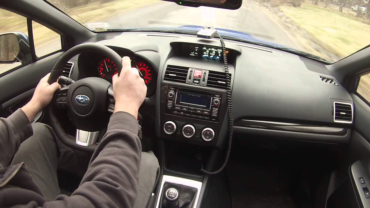High Quality 2015 WRX Interior Back Road Driving/Commentary/Vlog   YouTube