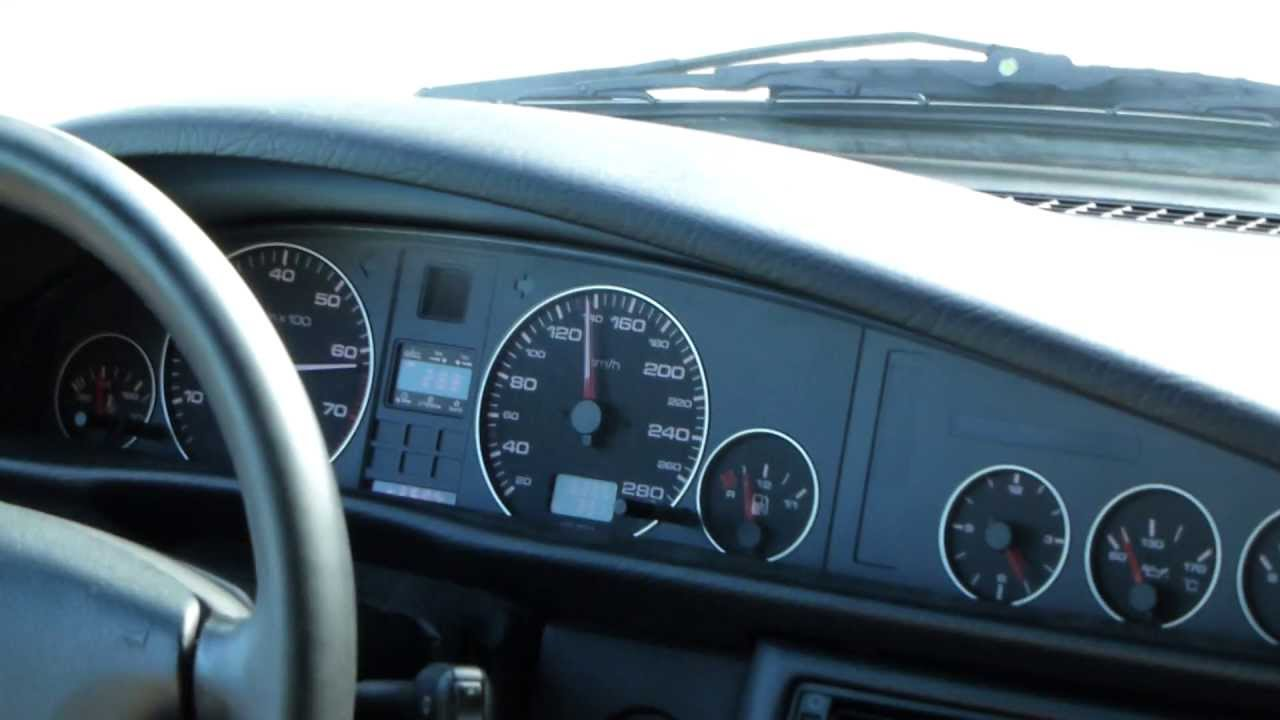 Audi A6 Quattro 2 8 V6 Acceleration 0 100 0 140 Km H Youtube