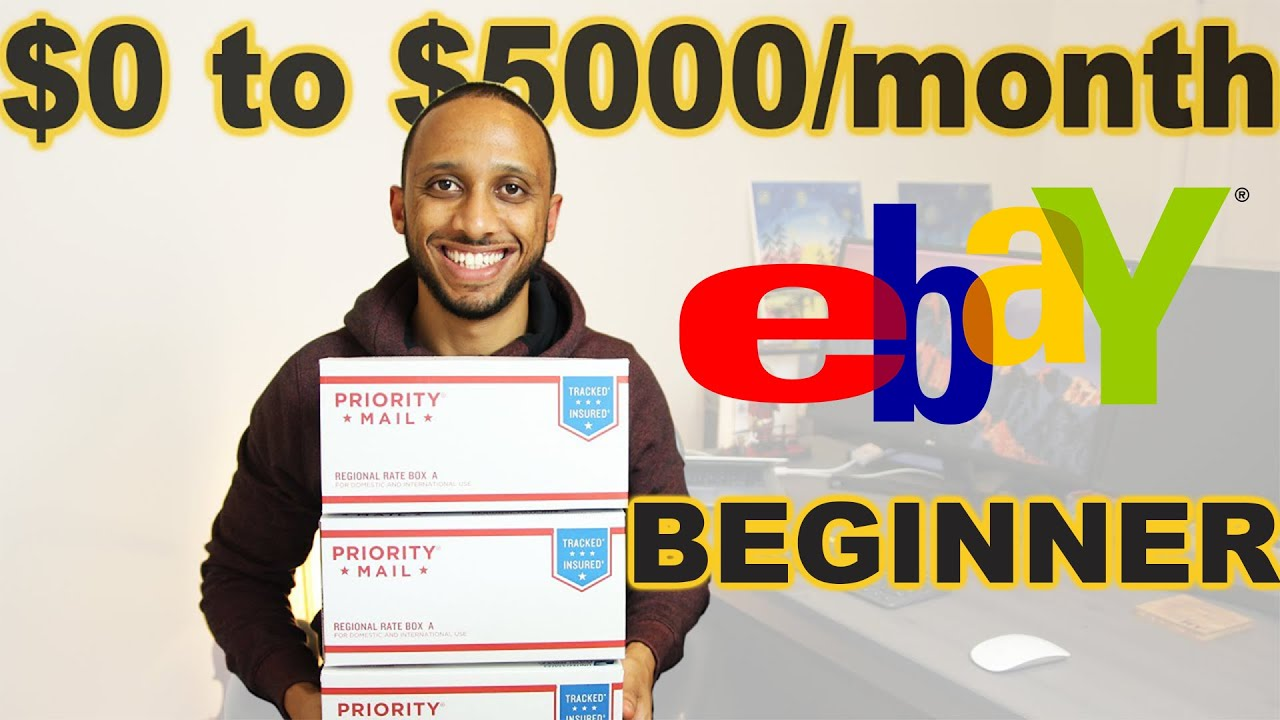 How to sell stuff on Ebay for Beginners (2020)