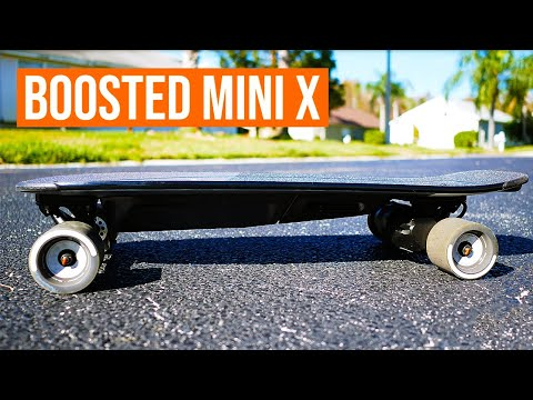 I GOT A BOOSTED BOARD | BOOSTED MINI X OVERVIEW