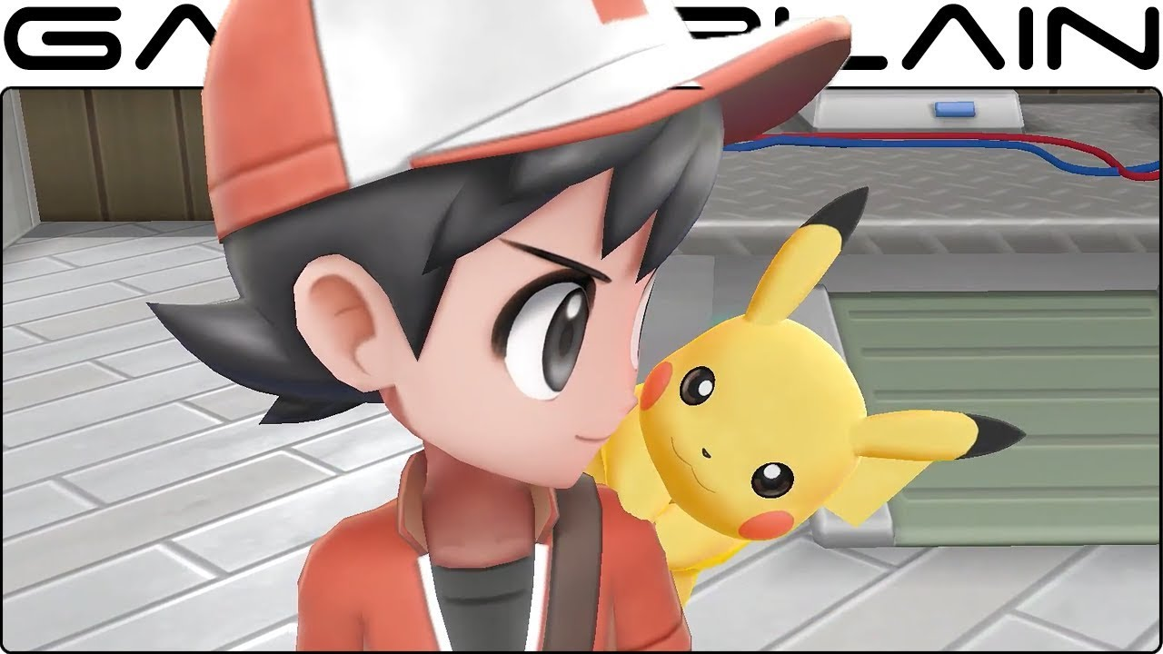 Pokemon Let S Go Pikachu Let S Go Eevee Reveal Trailer