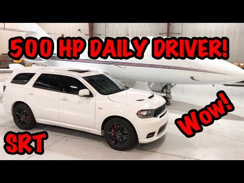 2018 DODGE DURANGO SRT REVIEW! PERFECT DAILY DRIVER!