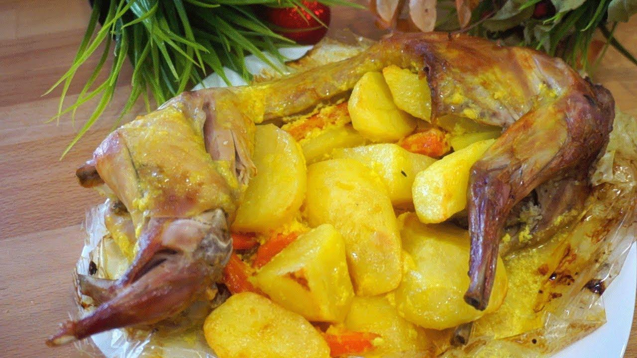 Бесподобный Кролик с Овощами! Самый Вкусный Рецепт! | рецепт как приготовить кролика с картошкой
