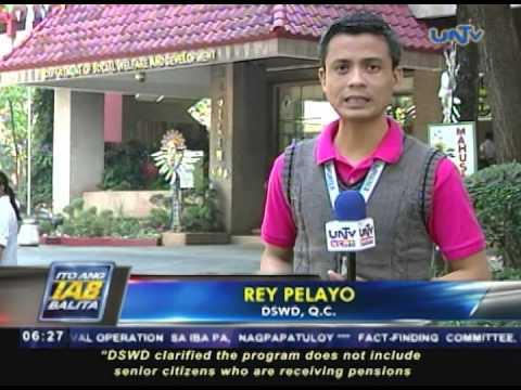 Mga indigent senior citizen, tatanggap ng pension mula sa DSWD