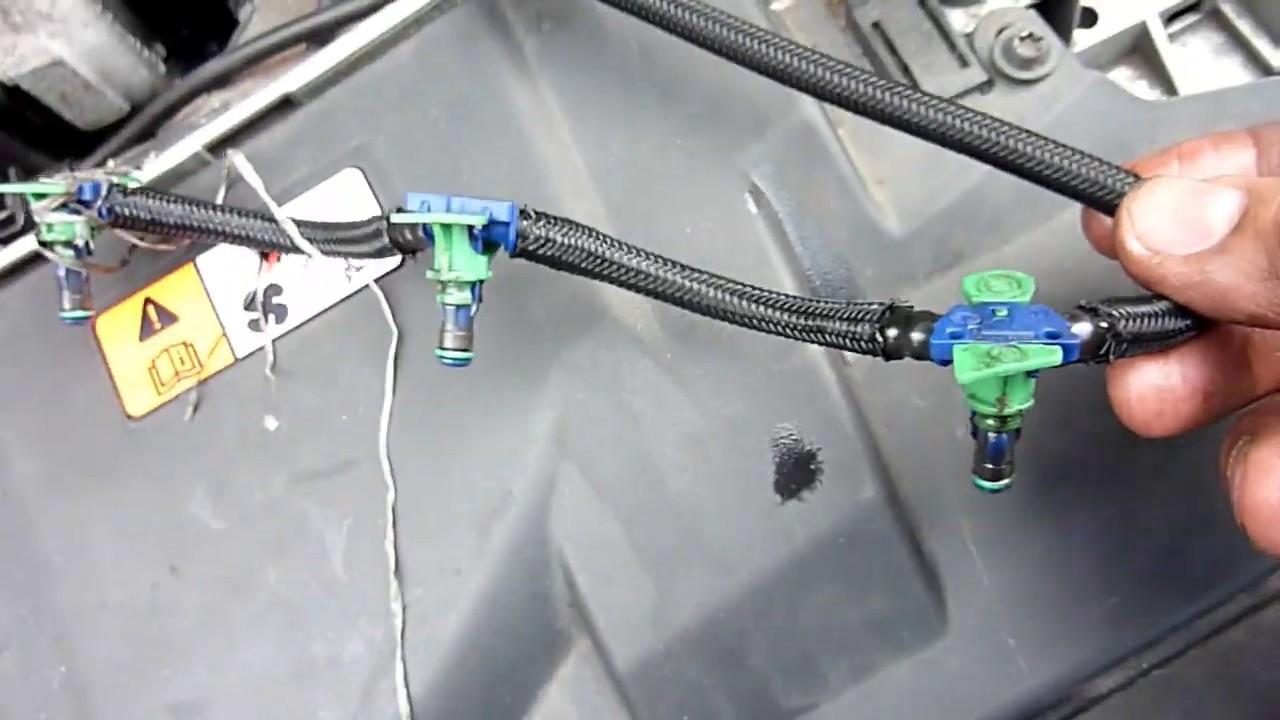Diesel Injector Leak Off Connector Fuel Leak Off Pipe for Ford Ranger